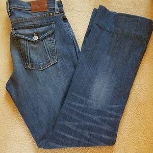LUCKY BRAND sweet n low flare jean